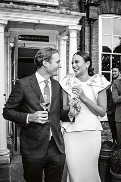 Inside a model's classic English wedding
