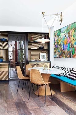 Inside a playful four-storey townhouse in London's Knightsbridge
