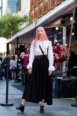 The best in street style from Vogue American Express Fashion's Night Out Sydney