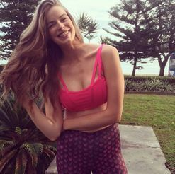 Robyn Lawley's healthy dinner recipe includes a wheel of triple cream brie