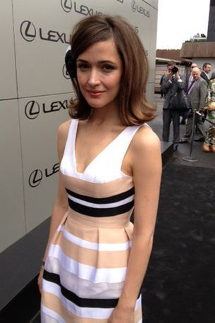 Rose Byrne's first Melbourne Cup