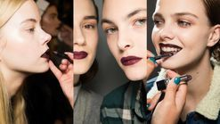 Watch: how to do an autumn berry lip