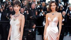 Bella Hadid and Emily Ratajkowski are twinning at Cannes