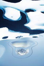 Swarovski's 'Thinning Ice' debuts at Design Miami