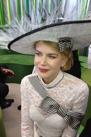Nicole Kidman dazzles at Derby Day