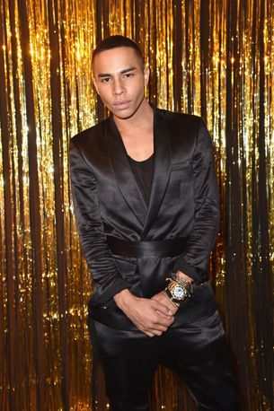 Balmain's Olivier Rousteing opens up about being adopted
