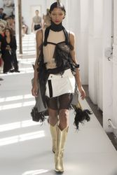 Suzy Menkes at haute couture autumn/winter '17/'18: day five