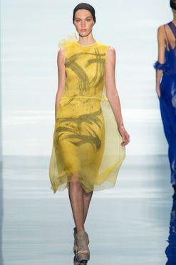 Vera Wang ready-to-wear spring/summer '14