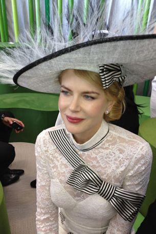 Nicole Kidman dazzles at Derby Day
