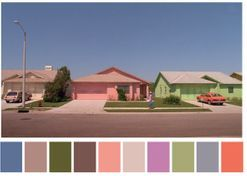These dreamy colour palettes were inspired by our favourite movie scenes