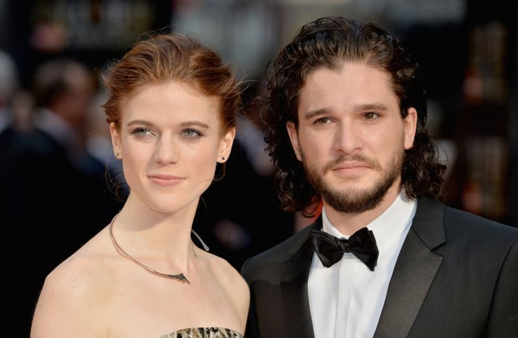 Kit Harrington and Rose Leslie are engaged