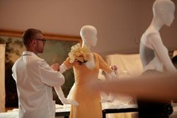 Go inside the NGV House of Dior exhibition as curators and Dior experts prepare for opening night