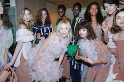 Backstage bandits: here's everything you missed from backstage at Mercedes-Benz Fashion Week Australia 2017