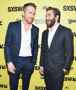 Ryan Reynolds and Jake Gyllenhaal are involved in a bromance and we want in