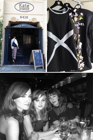 Penny Lovell's diary: pre-Oscar Chanel dinner