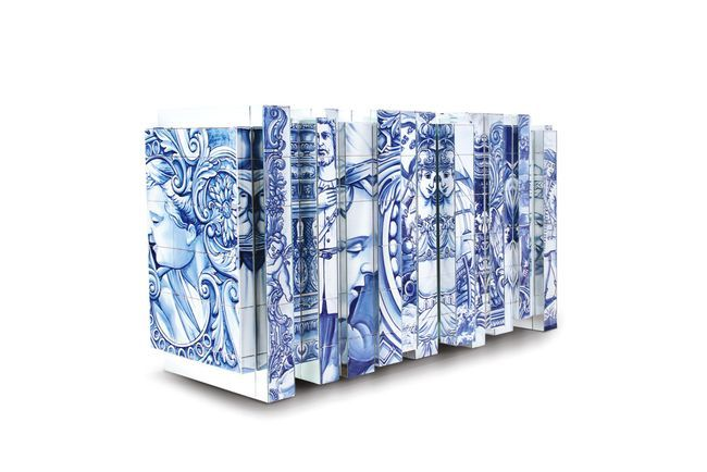 Get The Look Blue And White Vogue Living