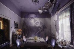 This artist transformed an abandoned Melbourne home into an ethereal immersive artwork