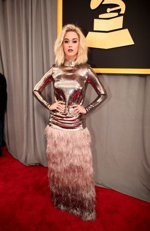 Grammys 2017: Katy Perry wears Tom Ford