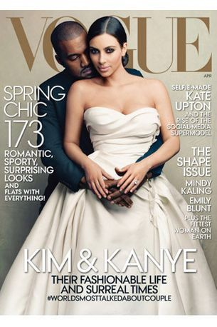 All about Kim and Kanye's US Vogue cover