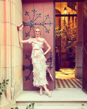 Lauren Santo Domingo on what to look for in your wedding dress shopping adventures