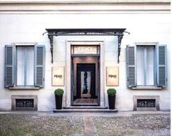 Fendi Casa has just opened its first flagship store in Milan