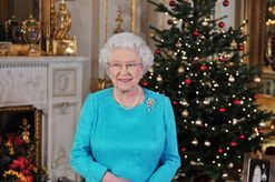 Buckingham Palace has unveiled its 2017 Christmas decor