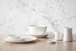 Qantas has launched a new designer tableware collection