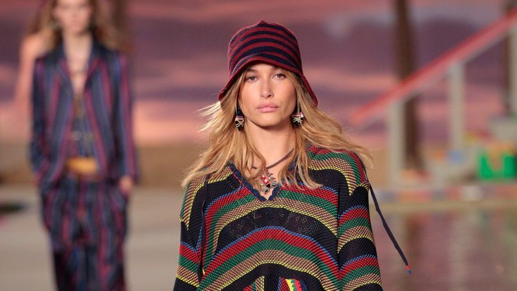 Hailey Baldwin makes her New York fashion week debut