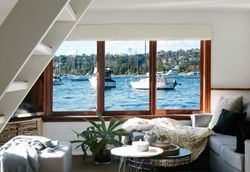 This Mosman-docked houseboat is not what you expect from a houseboat