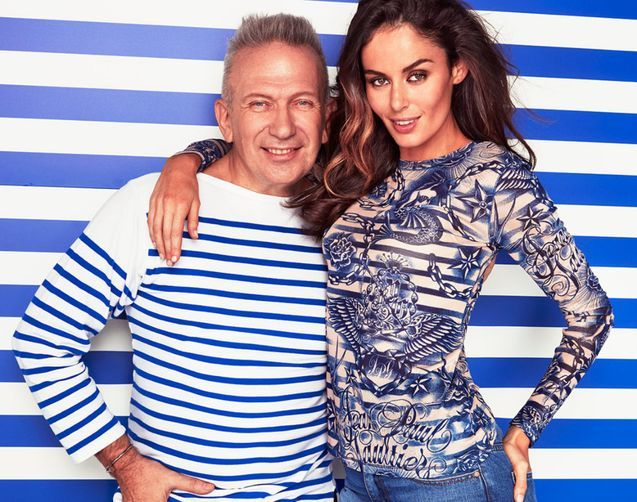 Nicole Trunfio is the face of Jean Paul Gaultier's new Target collaboration