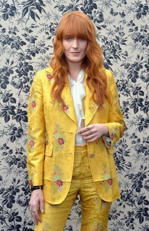 Florence Welch is the new face of Gucci
