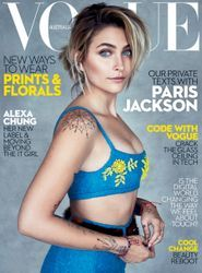 First look: Paris Jackson covers Vogue Australia's July 2017 issue