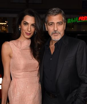George and Amal Clooney have adopted a dog together