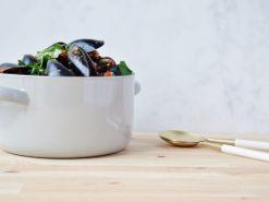 Recipe: chilli mussels