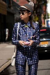 Street style from New York Fashion Week spring/summer 2013