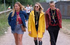 Five trends from Glastonbury's street style set you can wear this winter