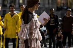 Street style from Paris Fashion Week spring/summer '17