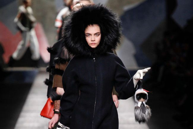 This Karl Lagerfeld fur handbag has a waiting list of 600 people