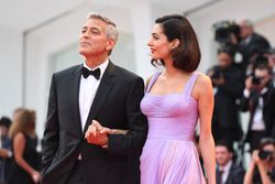 Amal Clooney returns to the red carpet after giving birth to her twins, and it was worth the wait