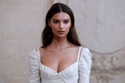 Emily Ratajkowski gives being a redhead a try