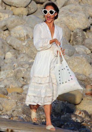 Alicia Vikander chose an Australian designer for her wedding weekend wardrobe