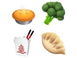 Brand new food emojis are coming to make your life so much simpler