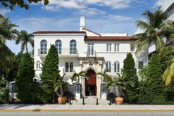 The famous Versace mansion in Miami is now a hotel and you can stay there