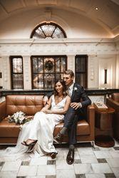 Inside a fashion PR's cool London wedding
