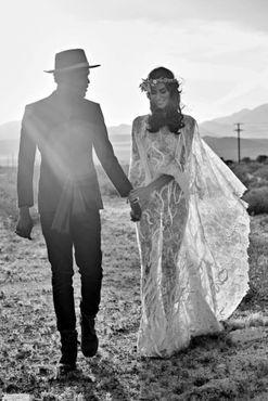 Inside Nicole Trunfio's California Coachella wedding