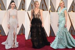 The Vogue team's best dressed at the 2016 Oscars