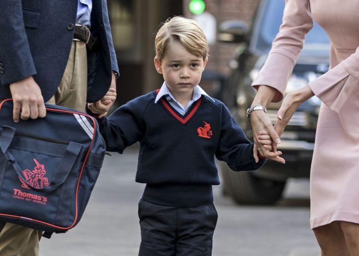 Prince George is already over school, 14 days into kindergarten