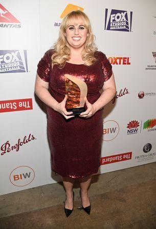 Rebel Wilson takes home trailblazer win at Hollywood's Australians in Film Gala