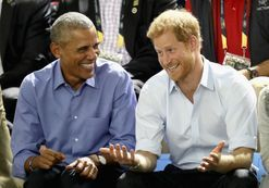 Prince Harry and Barack Obama continue their epic bromance in new interview