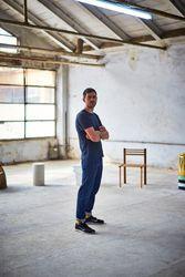 Max Lamb's exhibition of chairs at Milan Design Week